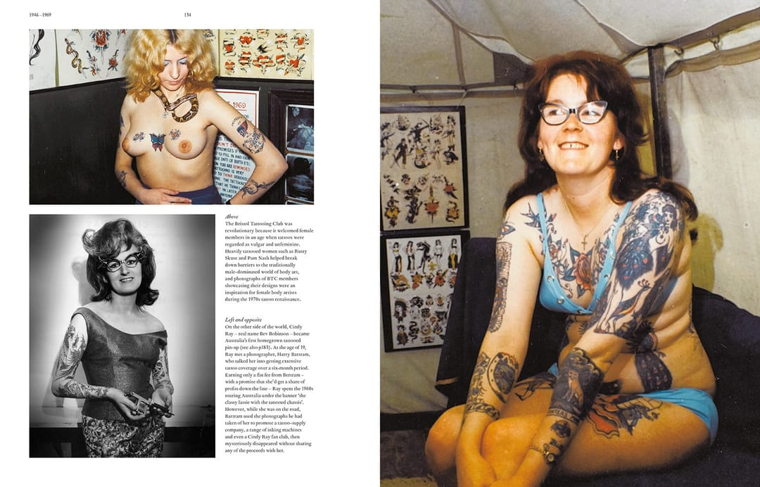 100 years of tattoos david mccomb