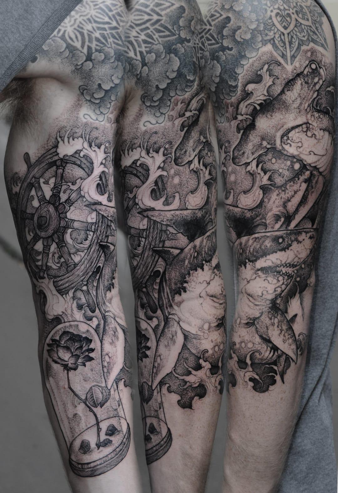 tattoo by Róbert Borbás