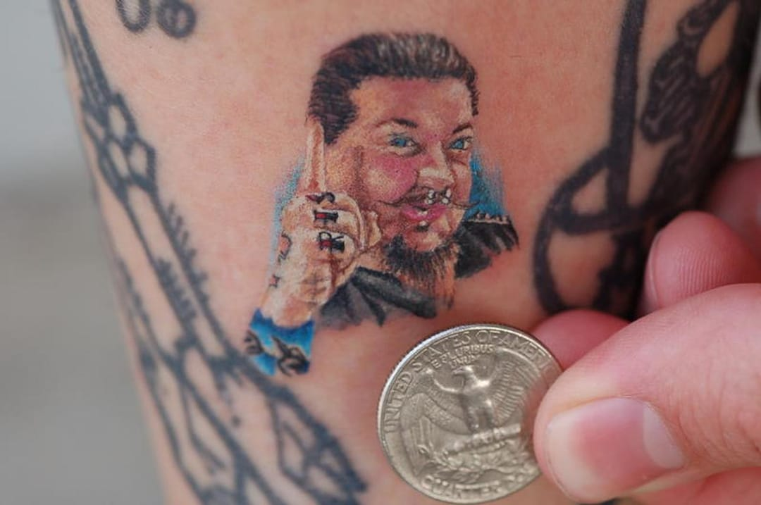10 Cute And Awesome Mini Portrait Tattoos