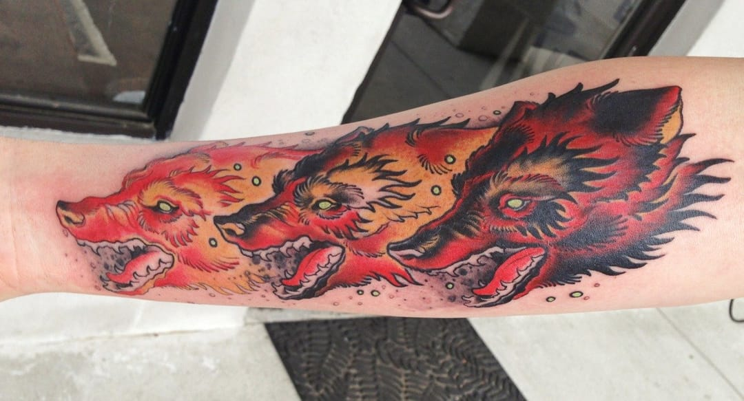 Tattoo by Mike Moses
