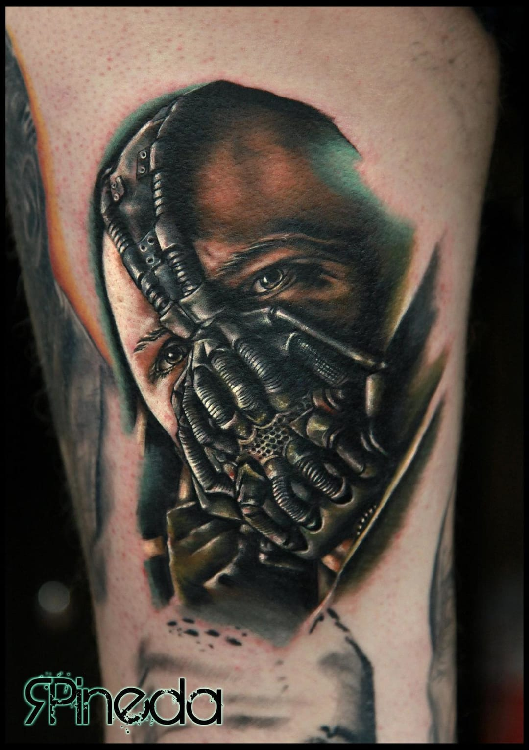 10 Badass Bane Tattoos!!