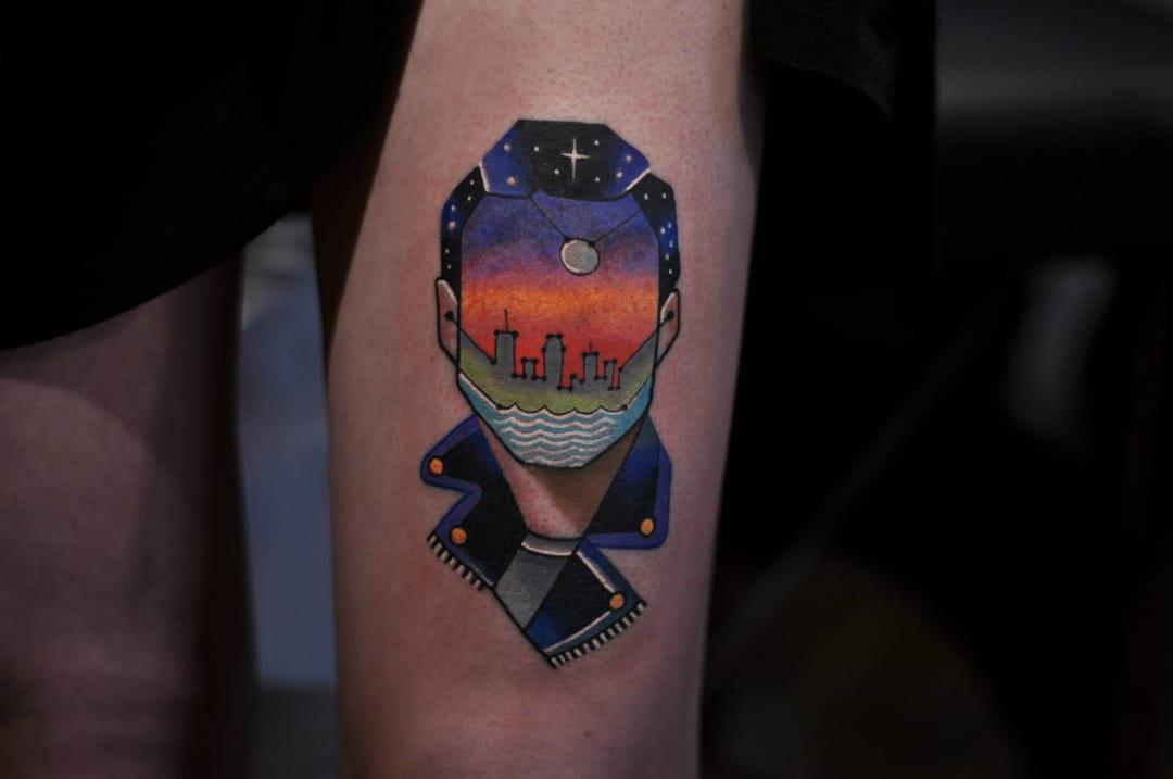 Tattoo by David Cote