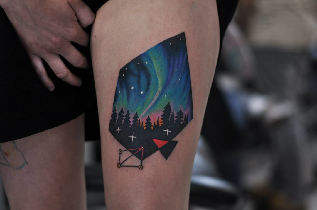 David Côté tattoo