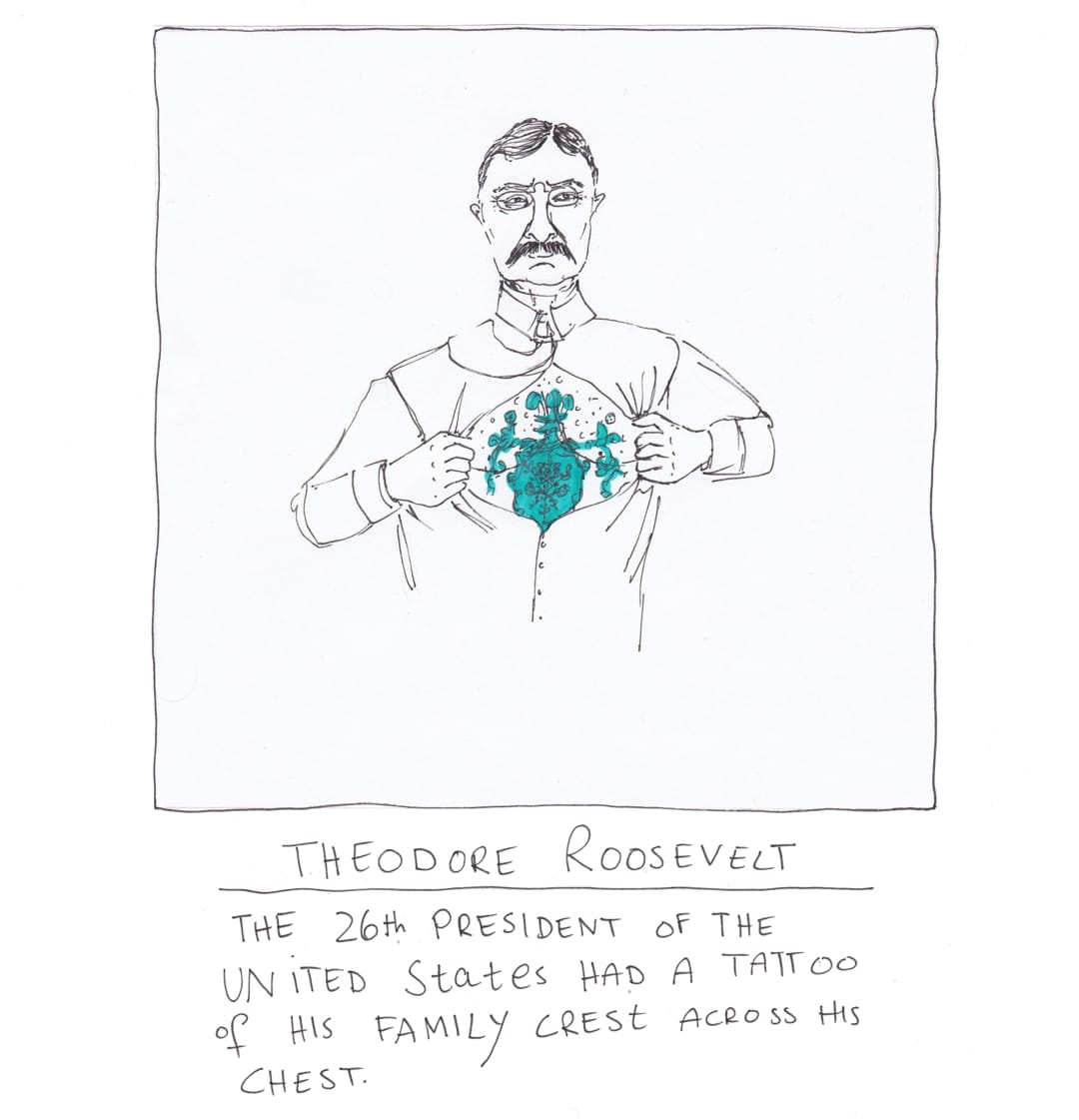 roosevelt tattoo drawing