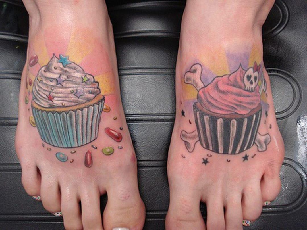 Cute feet.
