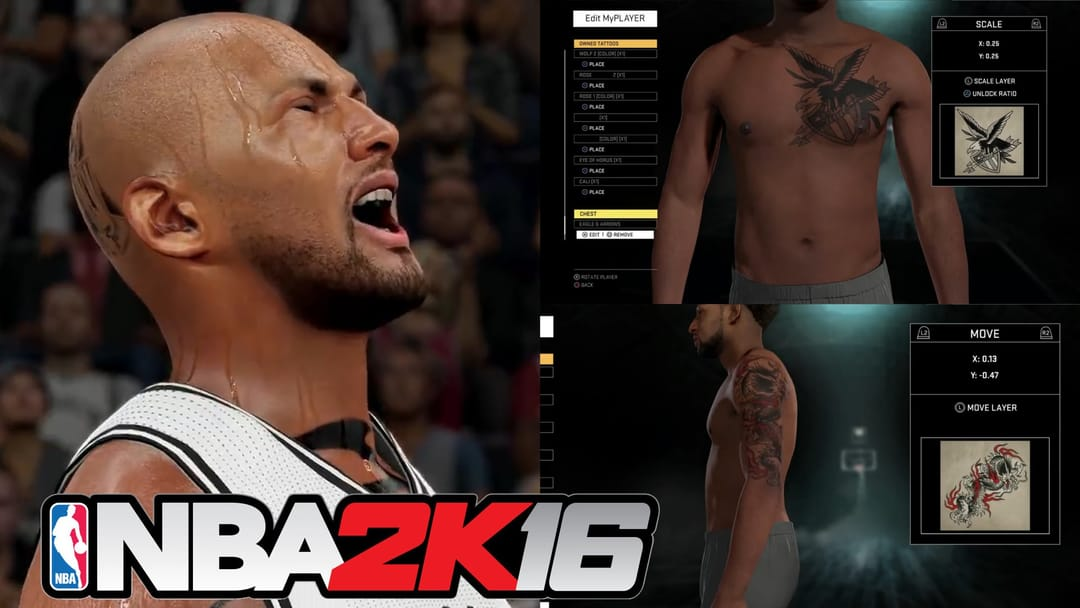 Nba 2K16: Be The Canvas!!!