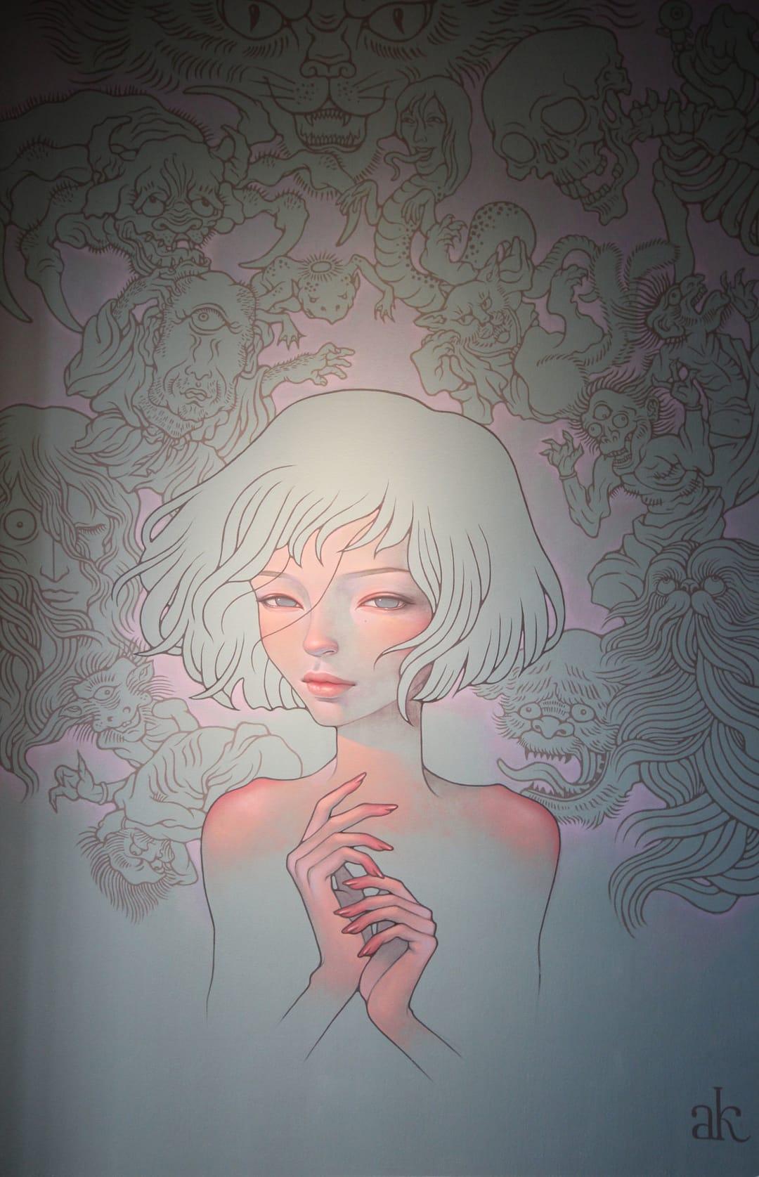 by painter Audrey Kawasaki