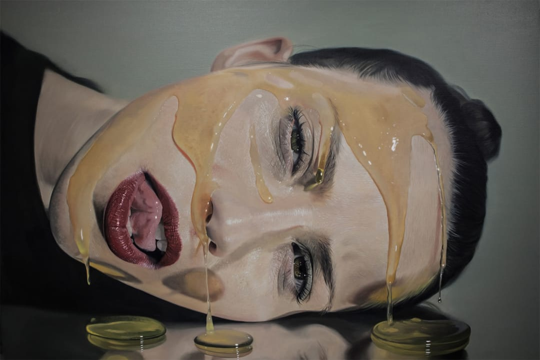 Mike Dargas painting