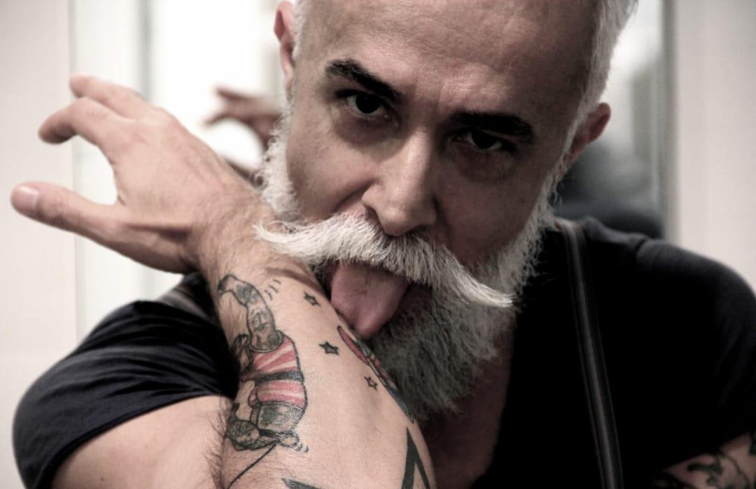 Alessandro Manfredini Is Italy's Tattooed Silver Fox