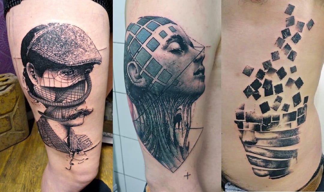 graphic tattoo by ToKo Loren