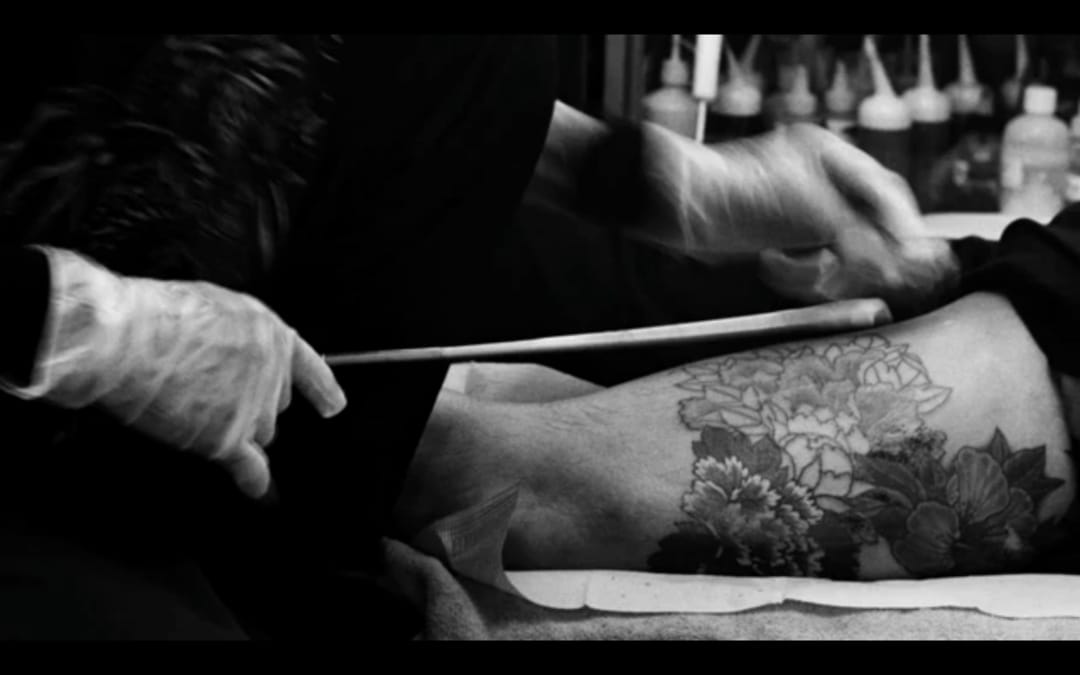 "Still from ""Horiyoshi The Third: The Skin Carver"""