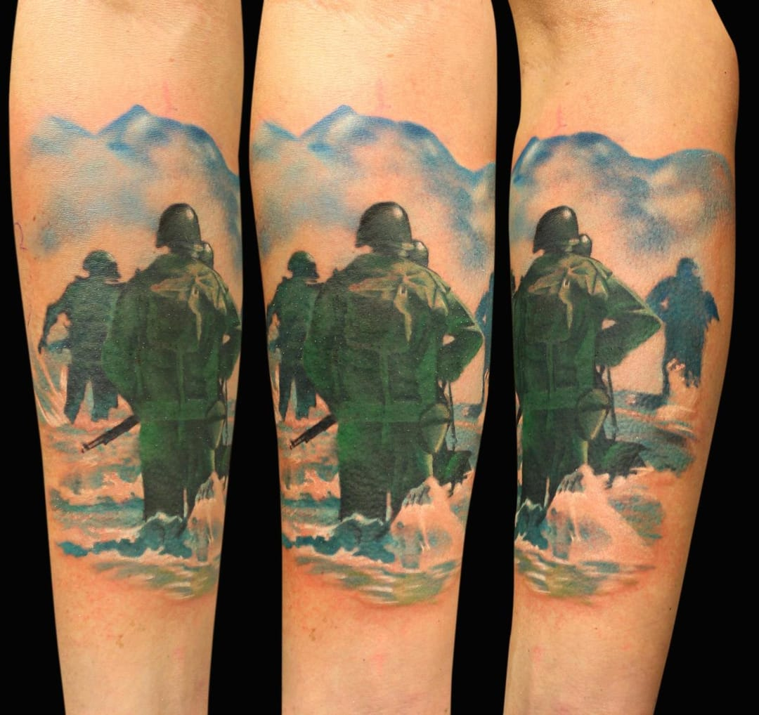 20 World War II Tattoos For D-Day