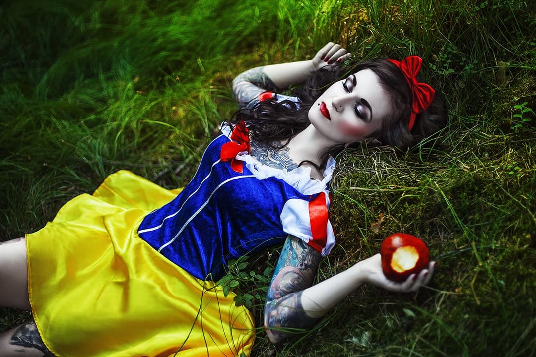 Karolina Ryvolova Captures Women As Glorious Inked Goddesses