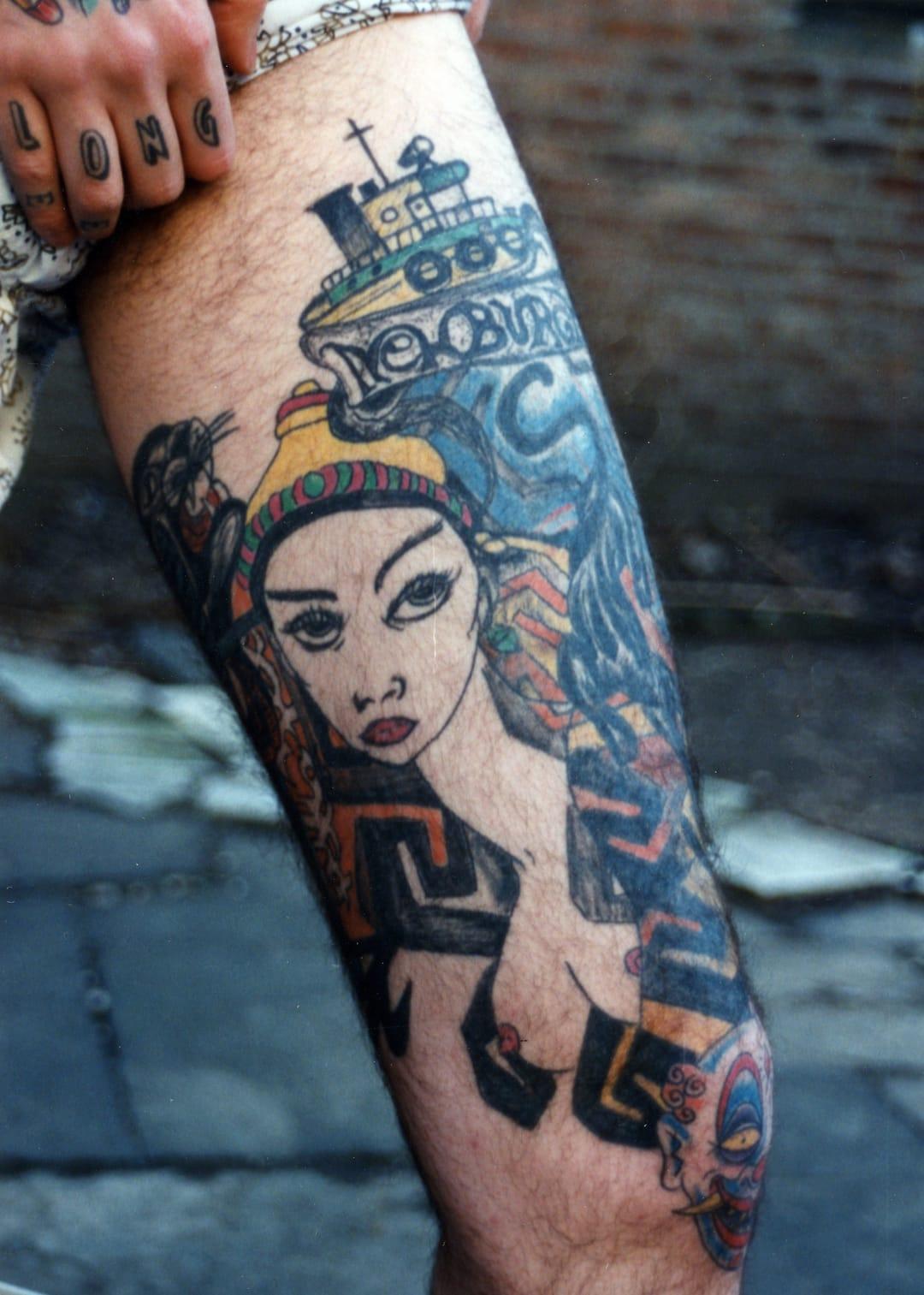 Tattoo, art by Thom de Vita