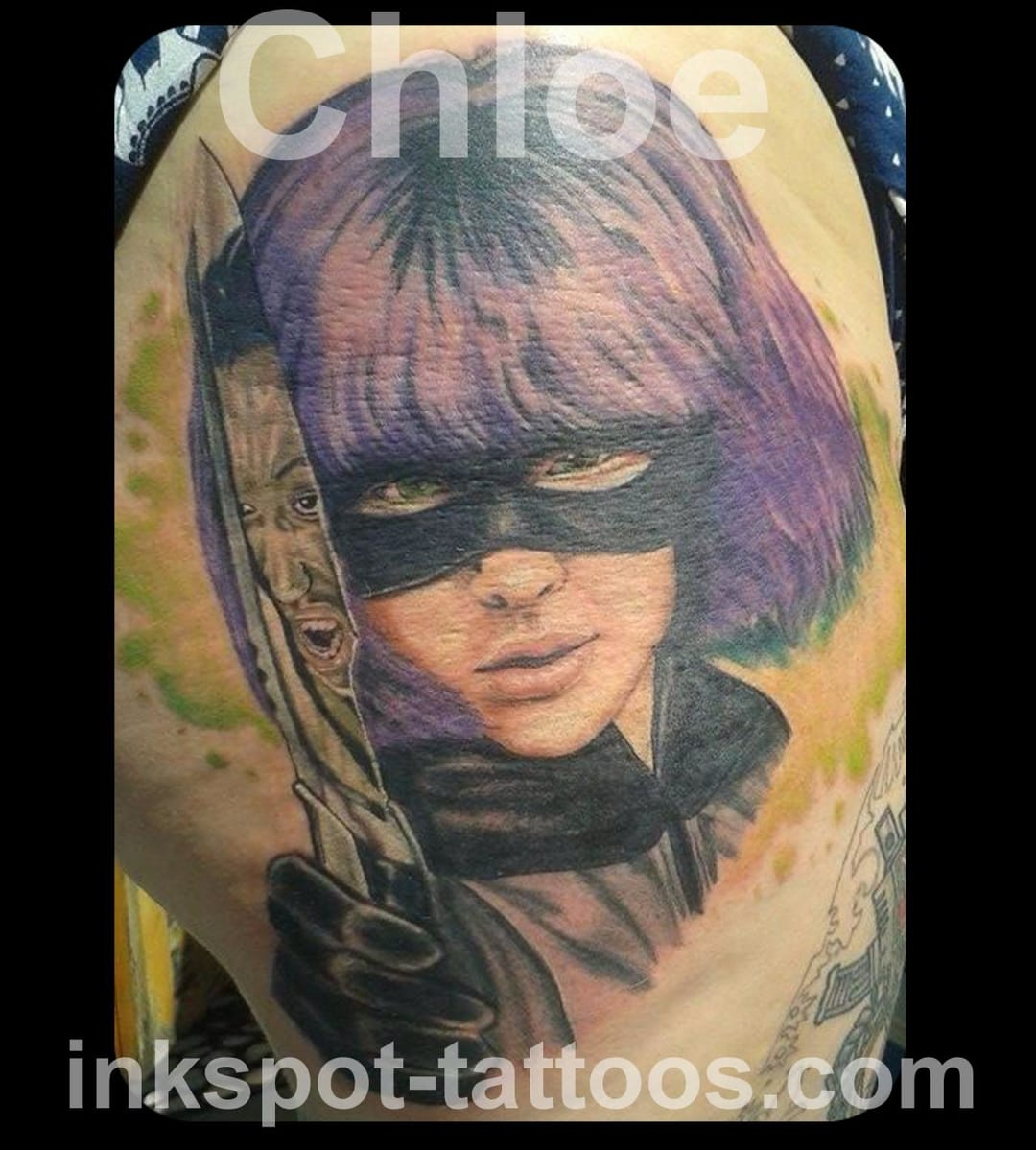 Hit-Girl tattoo