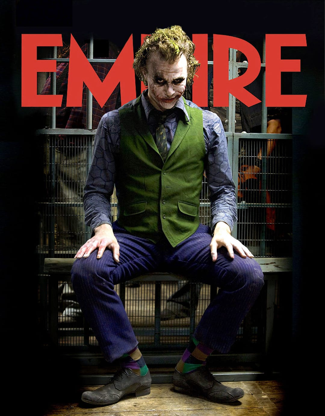 Empire Magazine with Jared Leto as The Joker on the cover