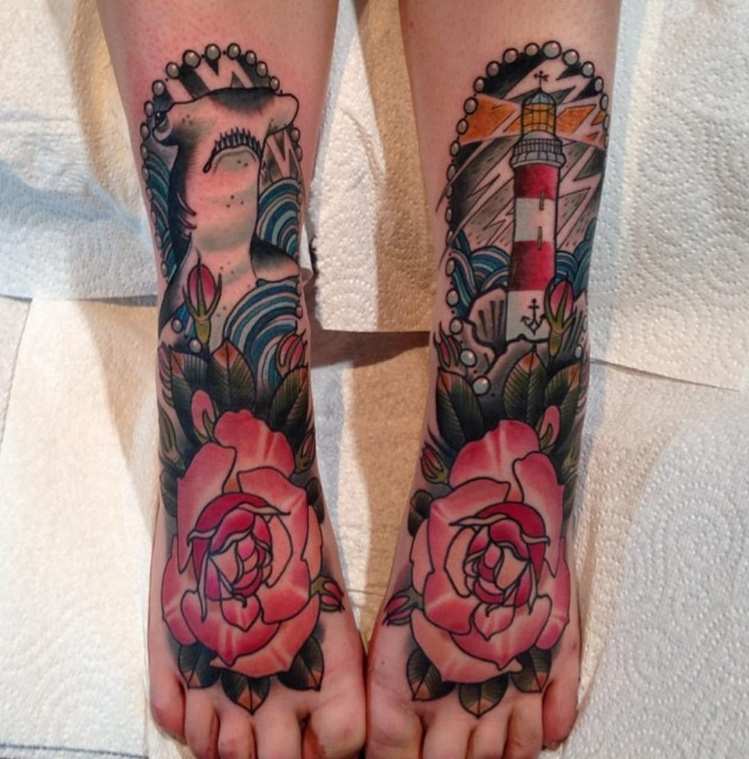45 Foot Tattoos That Will Make You Go Barefoot In The Winter