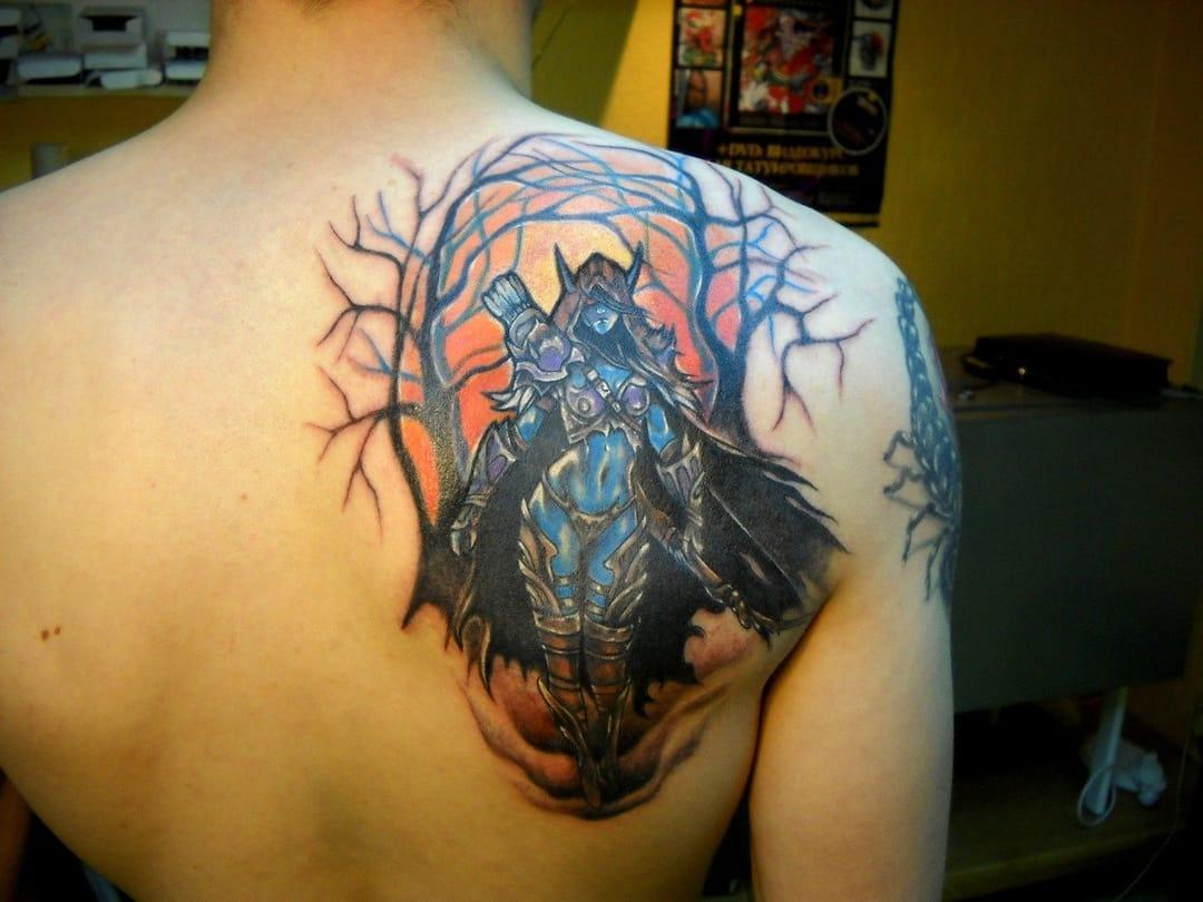 Dota Character Tattoo