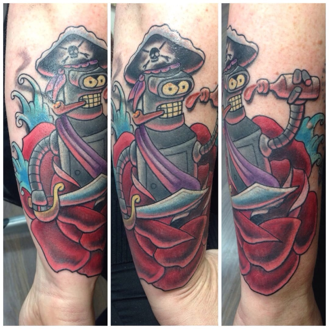 Tattoo by Sam Rivers