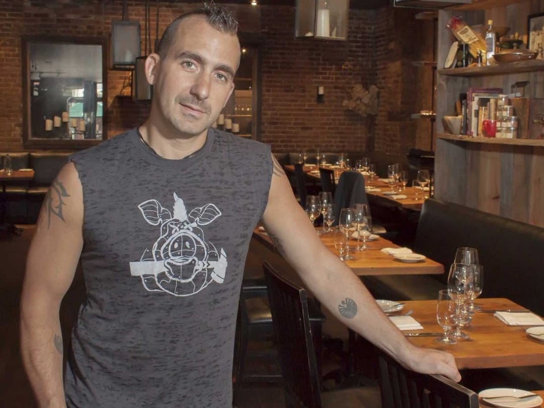 MARC FORGIONE, Chef/partner, Restaurant Marc Forgione and American Cut