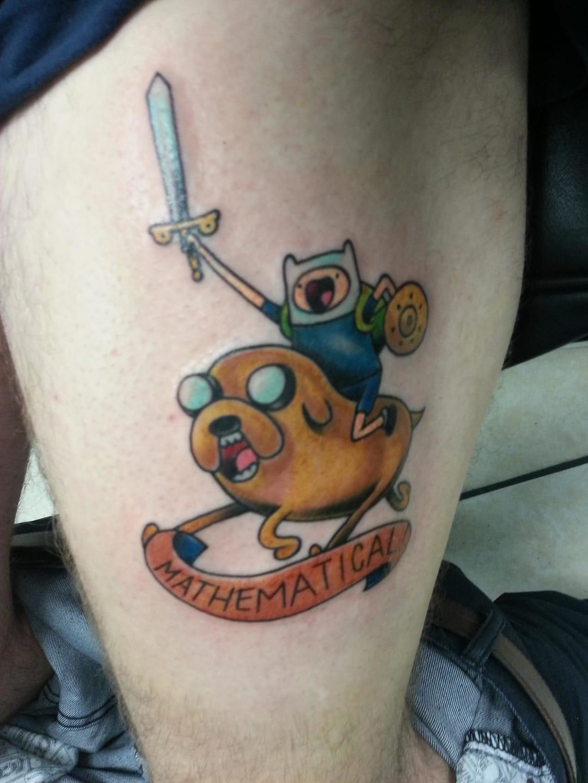 Tattoo by Tony Amundson