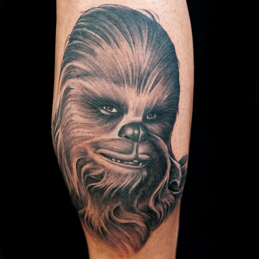 10 Loveable Chewbacca Tattoos