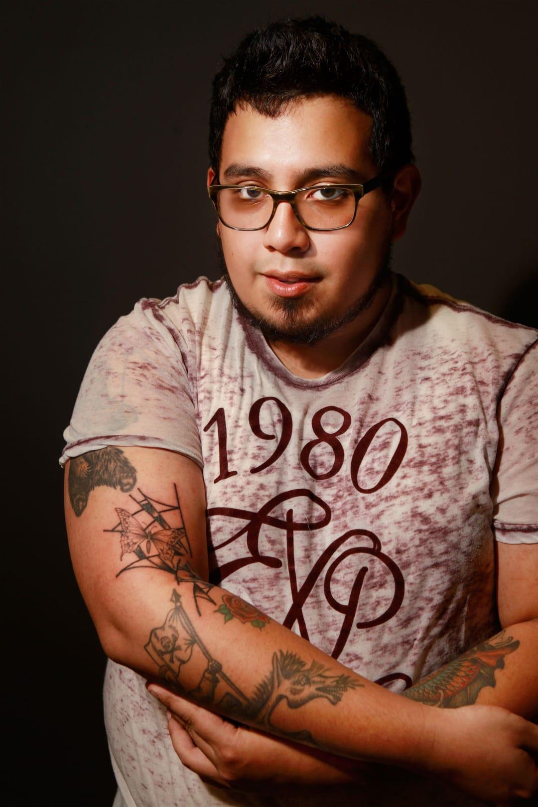 Oscar Portillo, photo by Marisha Camp
