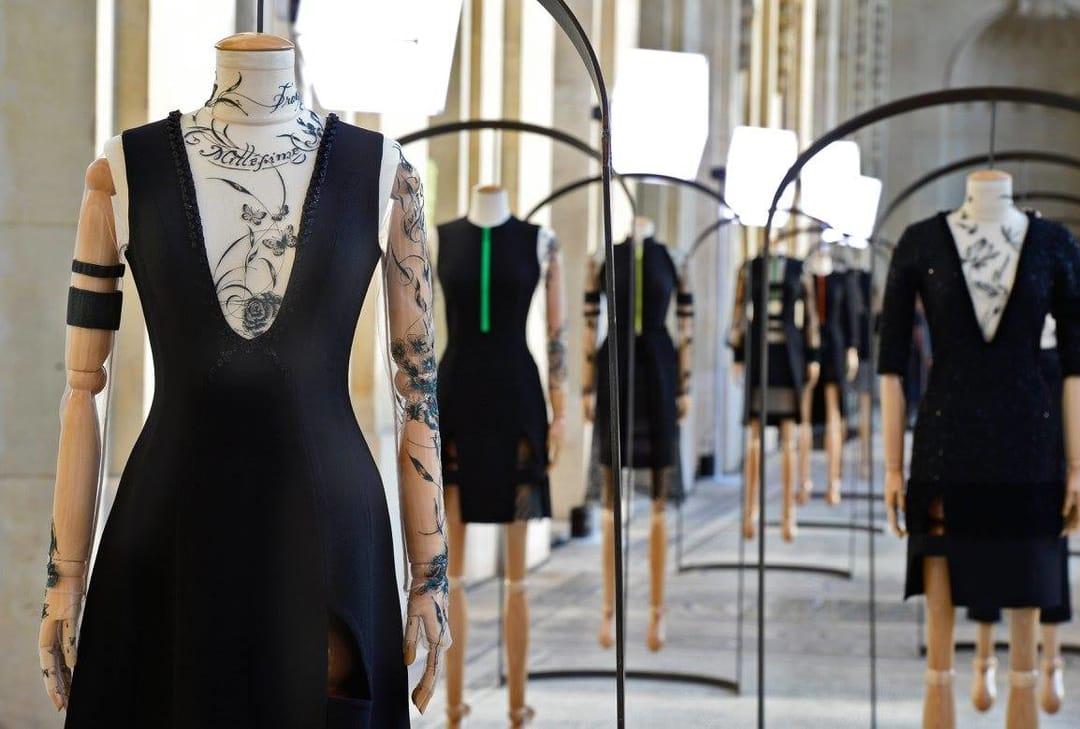 Aouadi tattooed dress worn by Cate Blanchett
