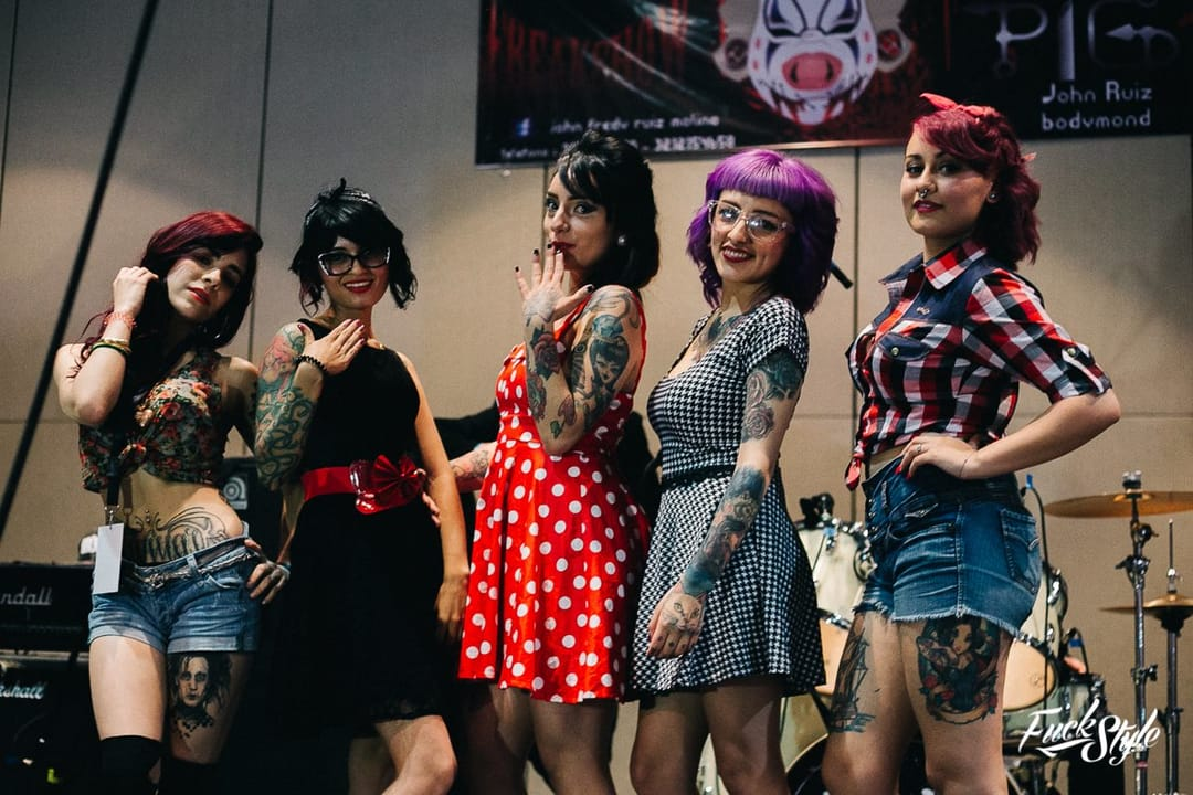 Bogota Colombia's 9Th International Tattoo Convention