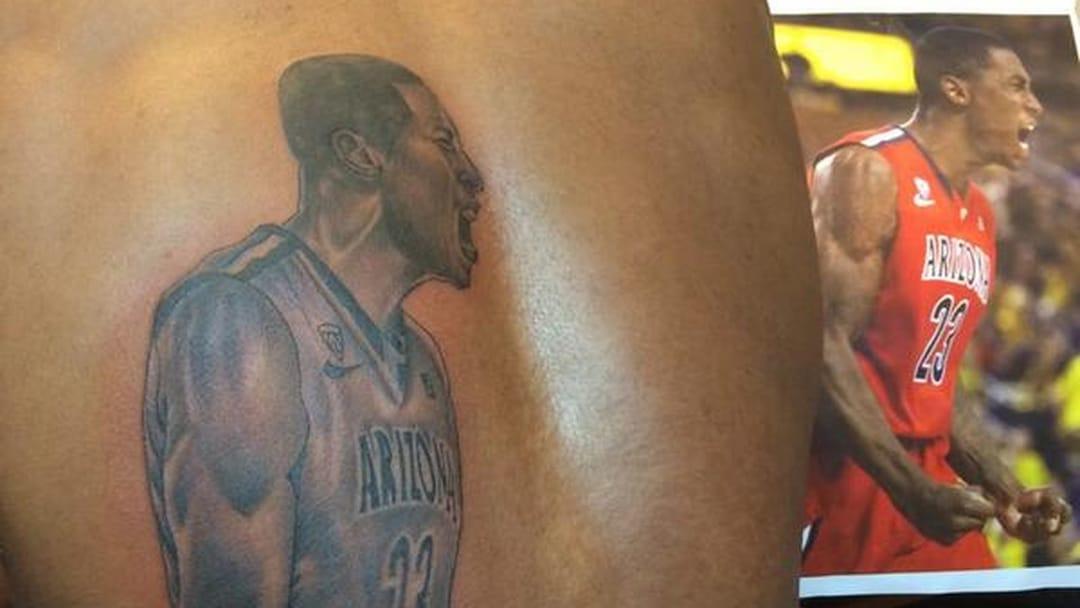 Hollis-Jefferson's Back Tattoo