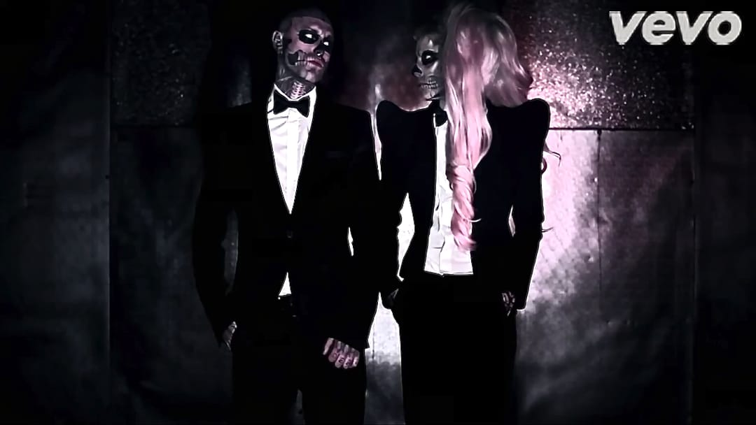 Zombie Boy in Gaga's Born This Way video.
