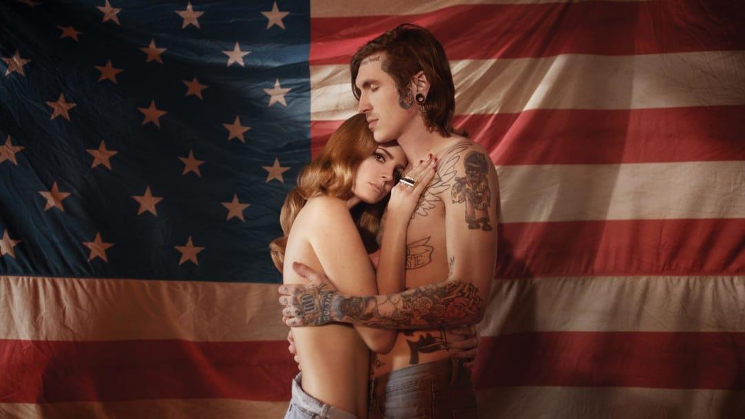 Lana Del Rey with alternative model, Bradley Soileau in 'Born to Die.'