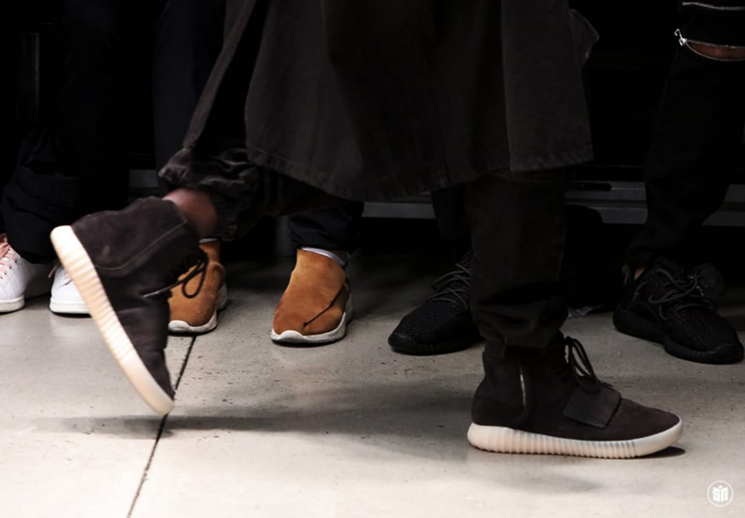 """The """"Black"""" Adidas Yeezy 750 Boost, Image: Sneakernews"""