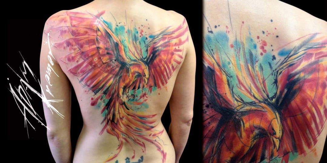 Watercolor Madness for Adam Kremer. #watercolor #adamkremer #phoenix