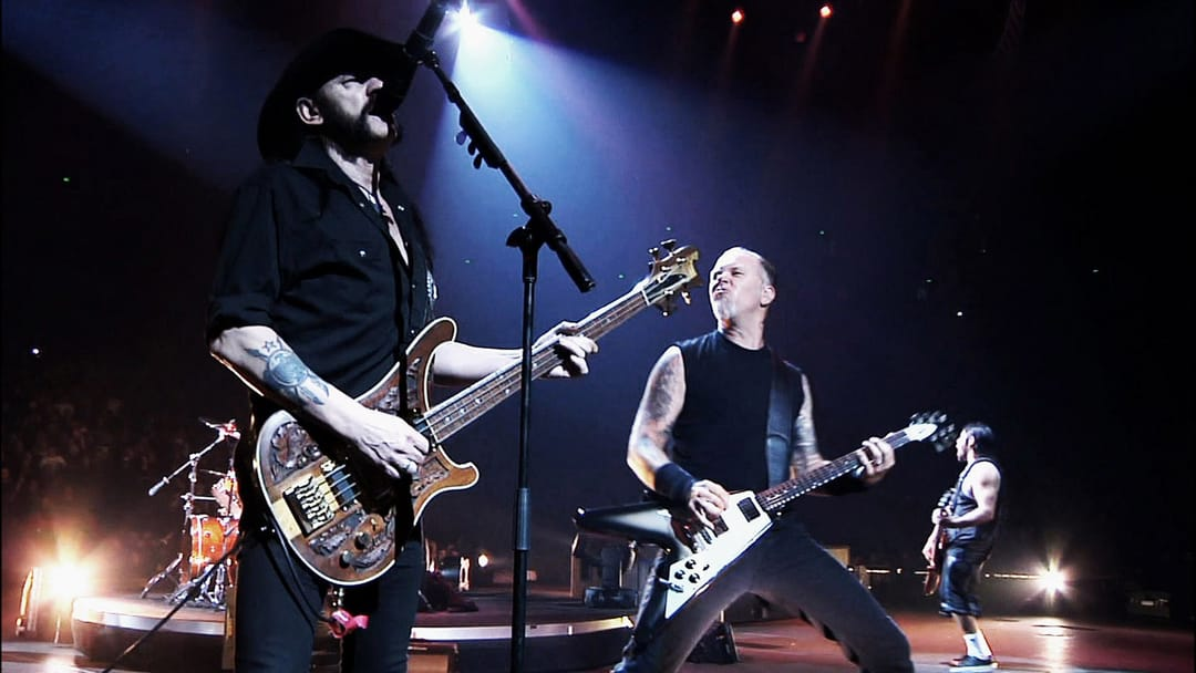 "Metallica tweeted: ""Lemmy, you are one of the primary reasons this band exists. We're forever grateful for all of your inspiration.''"