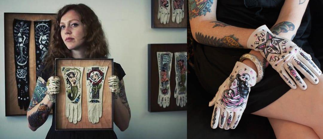 Fine Artists Take On Tattoos:  Ellen Greene