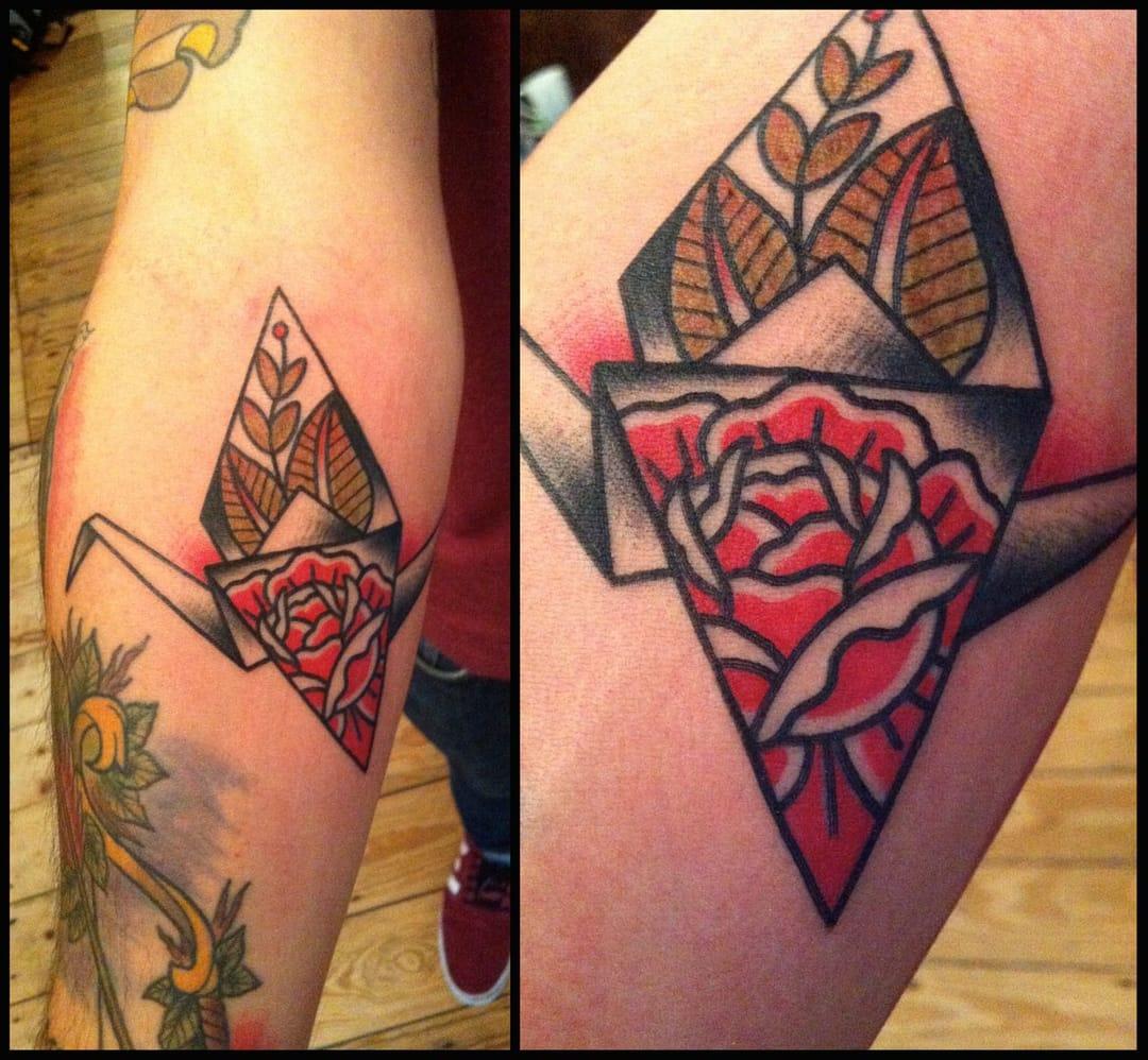 Original traditional tattoo.