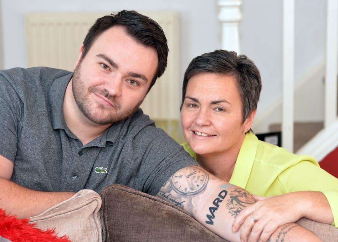 Loving Son Raises Money For Charity with Hospital Ward Tattoo