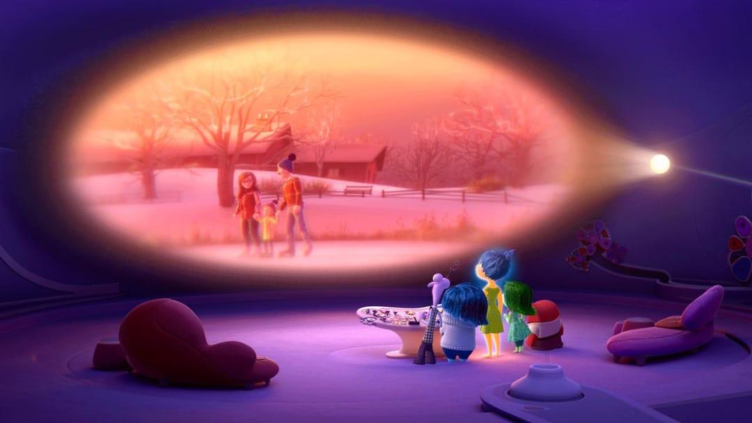 Inside Out. Image: Pixar.