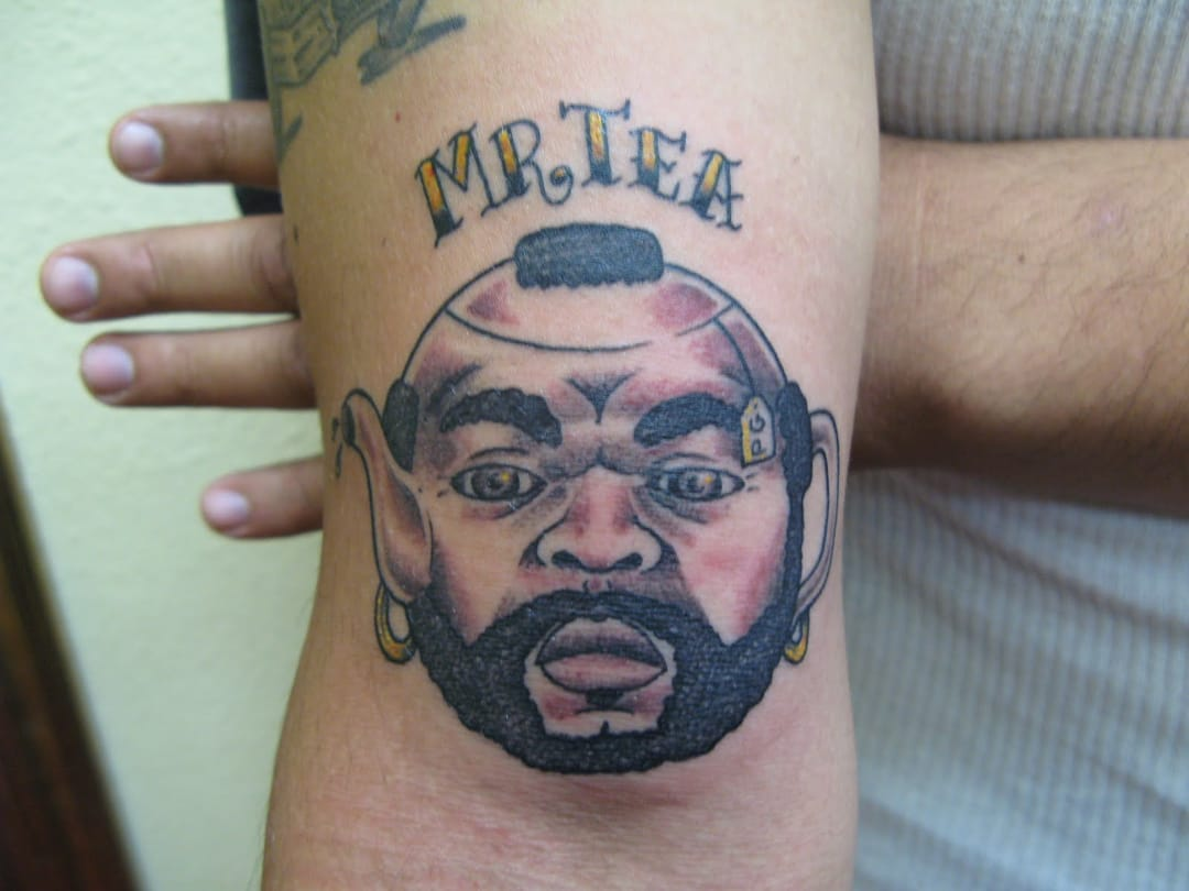And last but not least, this hilarious Mr T tattoo by Dan Collins... Total blast!