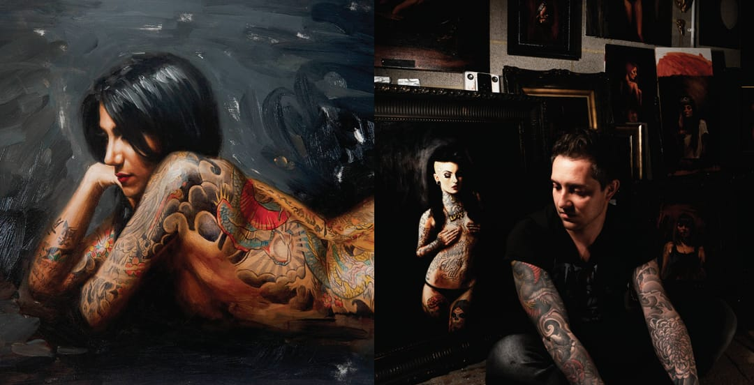Fine Artists Take On Tattoos: Chris Guest