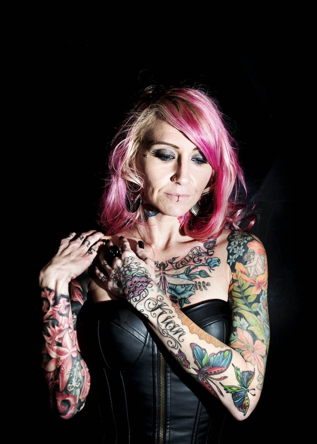 Jenny, Tattoo Model