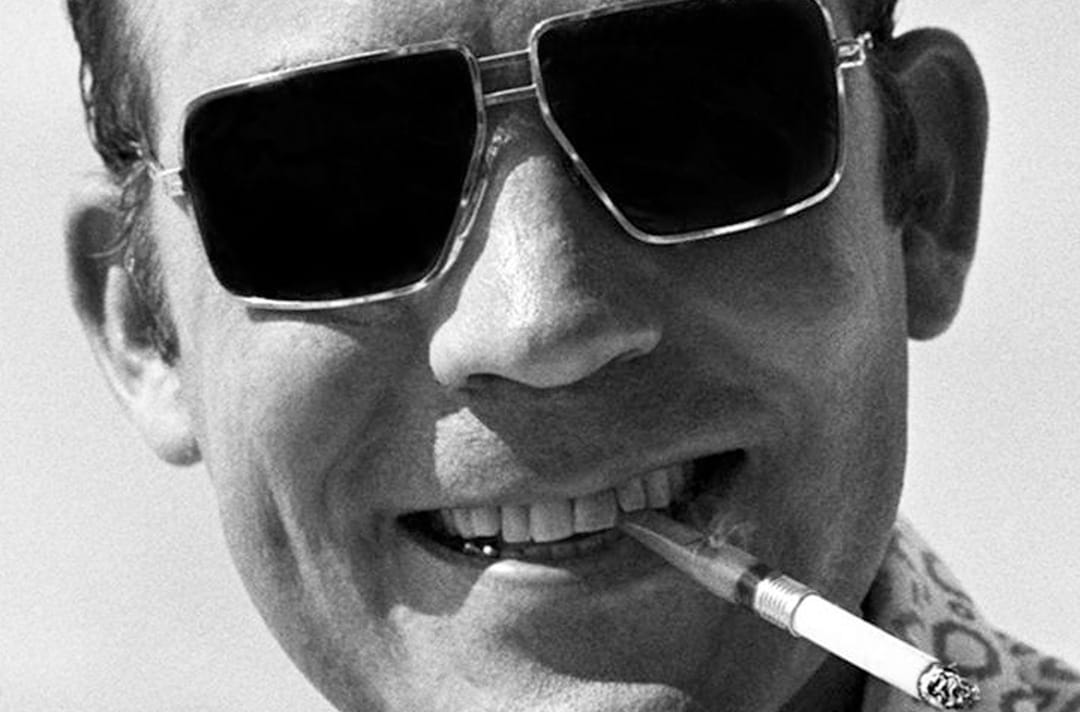 """I hate to advocate drugs, alcohol, violence, or insanity to anyone, but they've always worked for me."" ― Hunter S. Thompson"