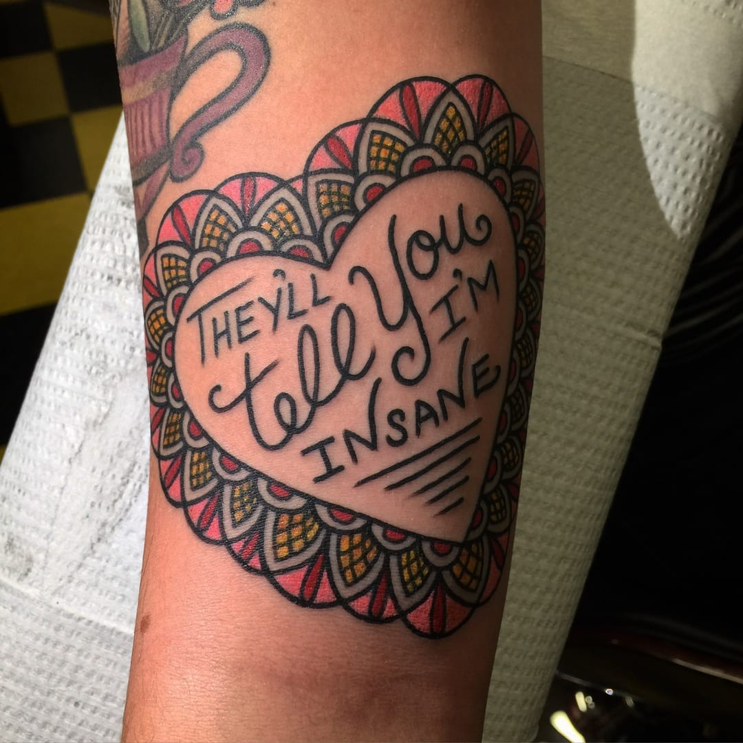 Taylor Swift lyrics, Myra Oh - Diadem Tattoo