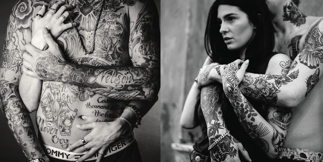 5 Tattooed Couples That Are The Definition of #RELATIONSHIPGOALS