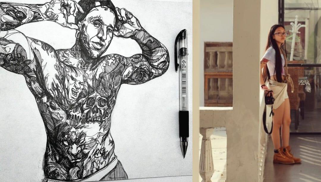 Fine Artists Take On Tattoos: Inoaix