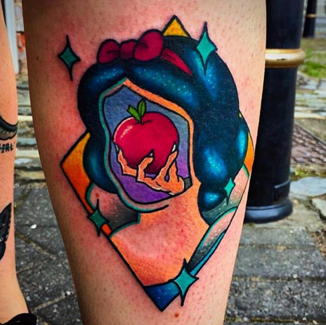 Snow White tattoo.