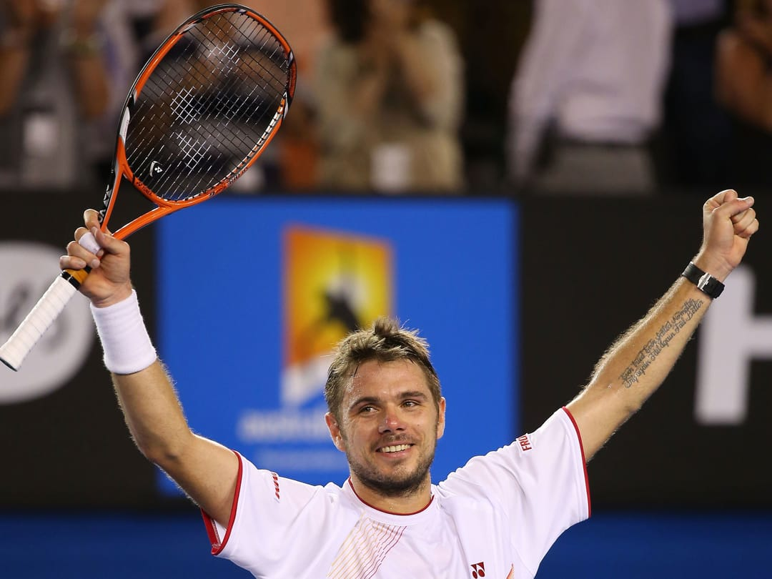 Tennis Star Stan Wawrinka Sports Some Meaningful Ink!