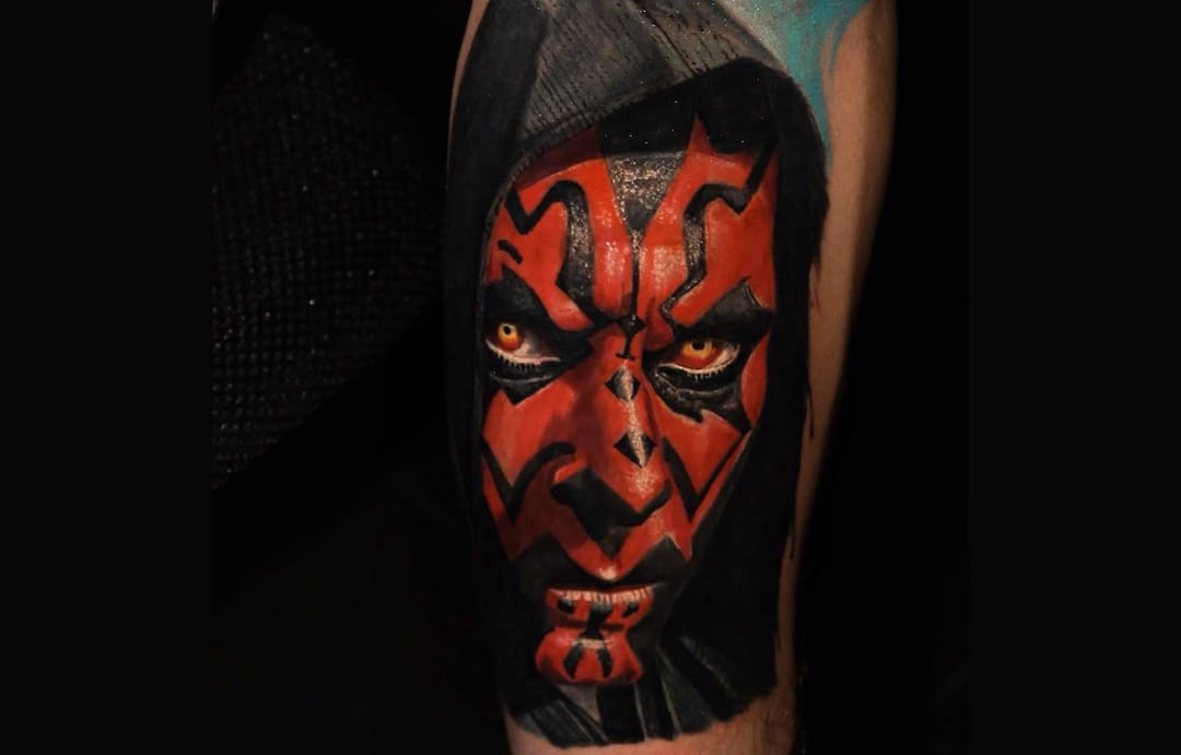 15 Darth Maul Tattoos For All You Sith Lords!