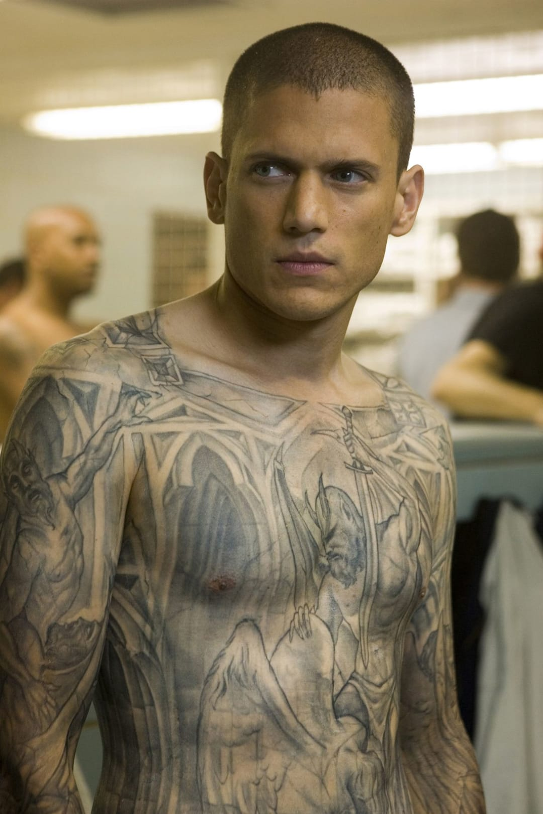 Prison Break's Michael Scofield Is Back and His Tattoos Might Be Too!